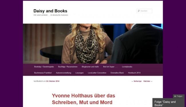 20141029_Daisy and Books_Autorenvorstellung